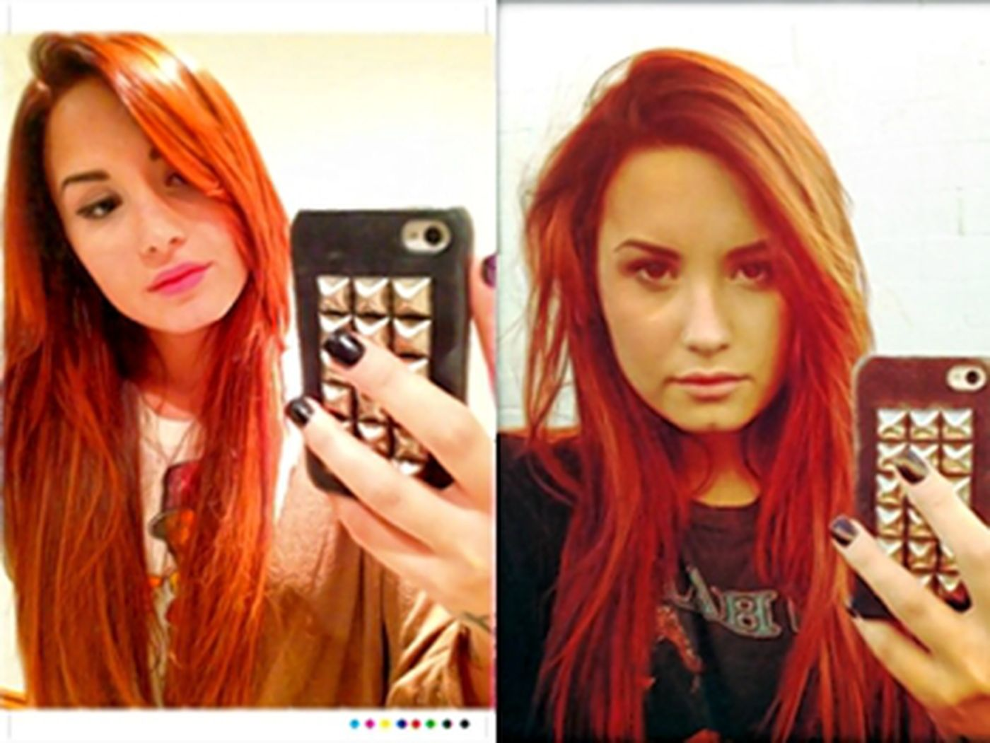4 Demi Lovato Dyed Her Hair