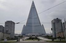 North Korea Hotel Of Doom Shows Signs Construction
