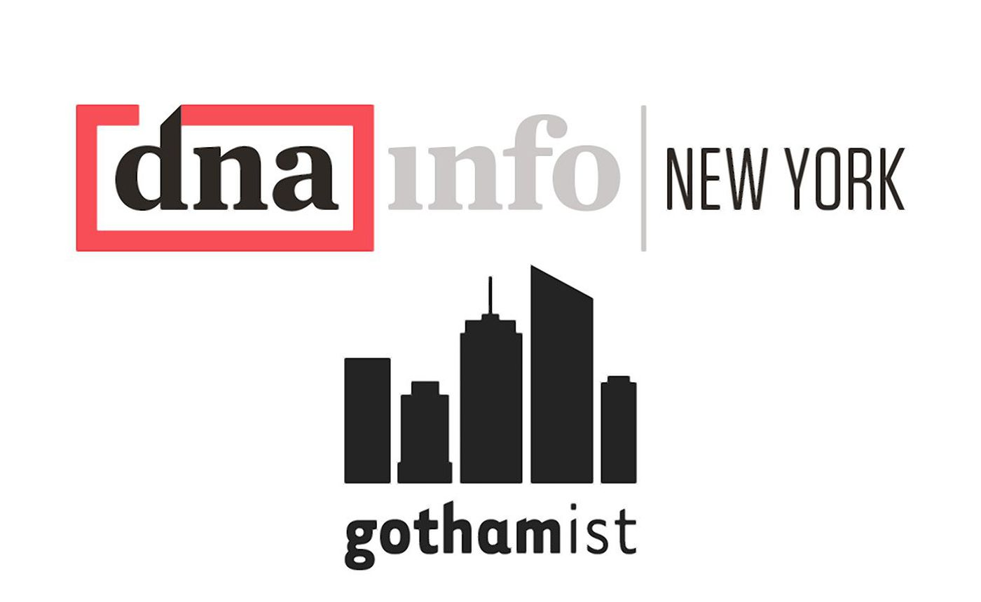 DNAinfo, Gothamist shut down by owner days after employees