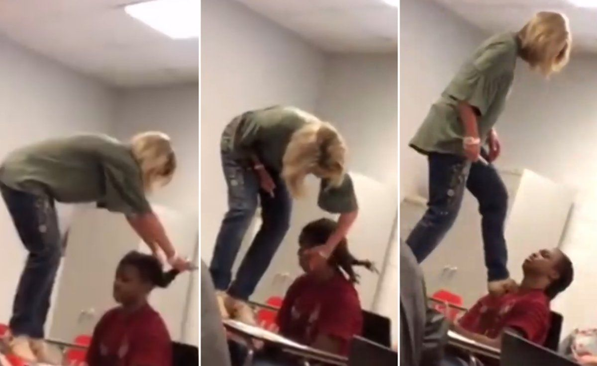 Teacher forced to resign after hairpulling incident