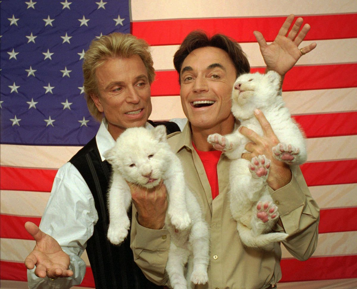 Siegfried  Roy tiger handler claims coverup in 2003 attack says Roys shrinking relationship