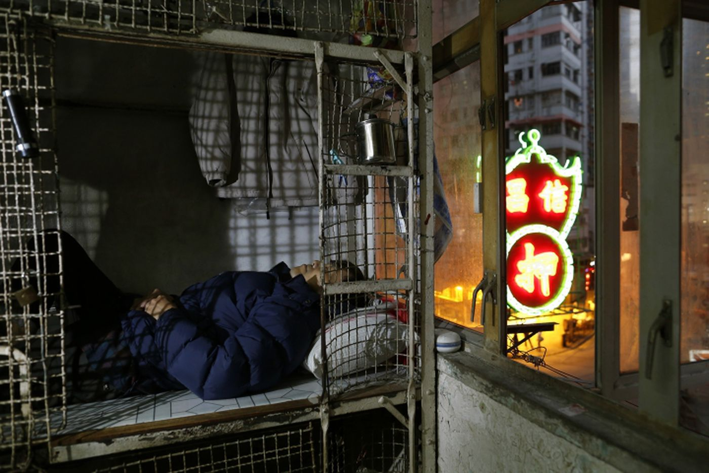 In Wealthy Hong Kong The Poorest Residents Live In Metal