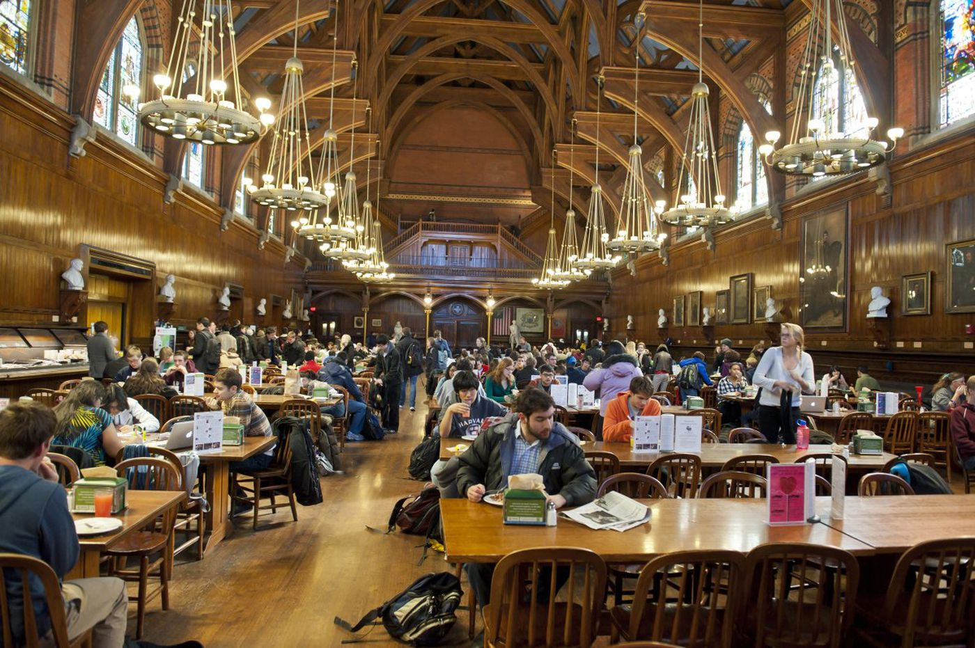 Harvard Students Freak Out As Dining Hall Workers Prepare