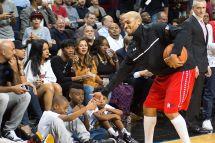 Chris Brown Rihanna Basketball Game