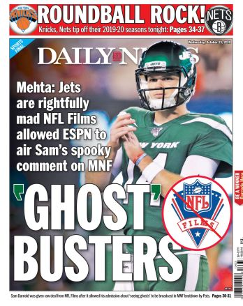 Image result for sam darnold sees ghosts