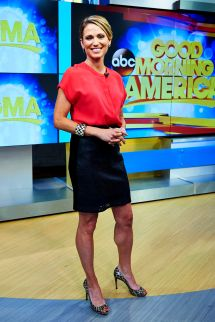 Exclusive Amy Robach Of 'good Morning America' Details