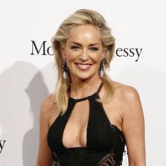 Chair Covers Queens Ny Metal Bistro Chairs Sale Sharon Stone Hospitalized In Italy After Migraine Complaints, Back On Red Carpet Shortly ...