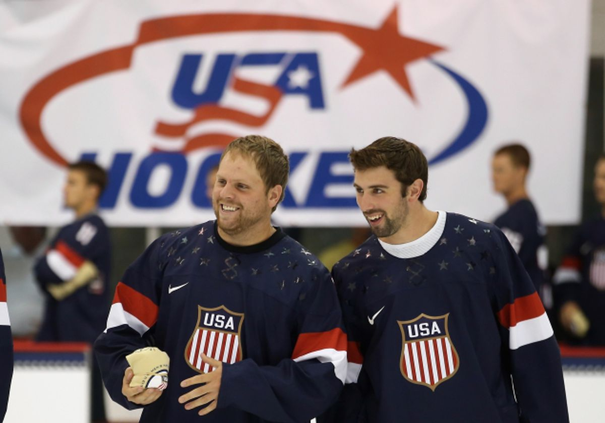 See It Nike Unveils New Usa Hockey Sweaters For