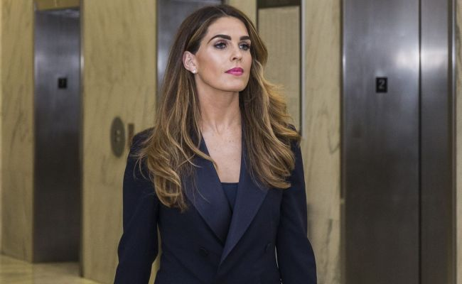 Hope Hicks Stonewalls Congress In Closed Door Hearing As