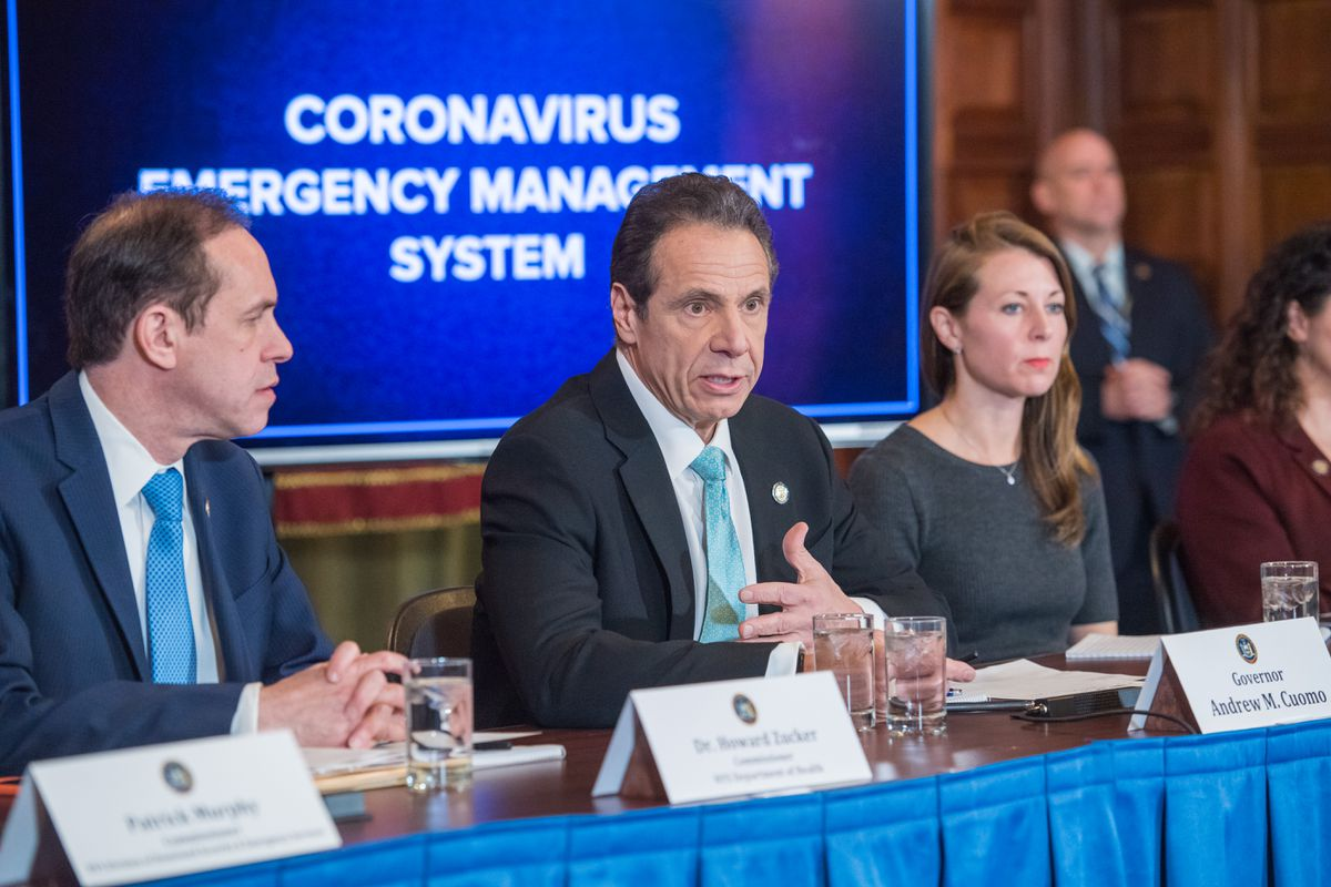 New York coronavirus case jump to 89, state of emergency declared ...