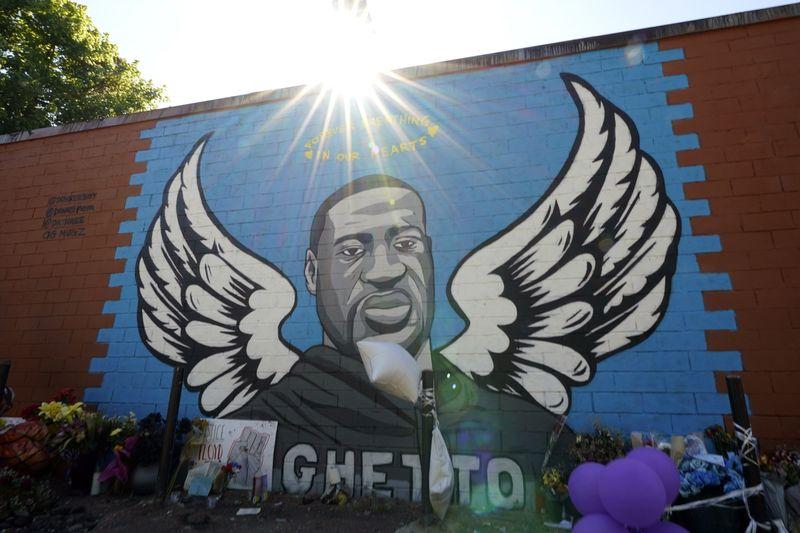 Social-media post making light of George Floyd's death is under investigation
