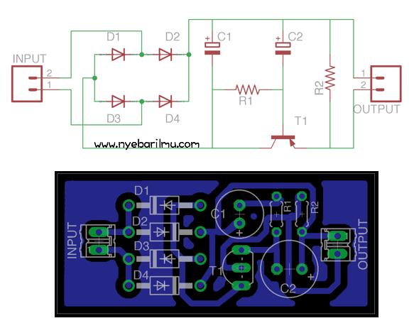 Rangkaian Elektronika Power Supply