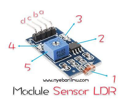 Module sensor LDR