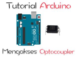 arduino mengakses optocoupler PC817
