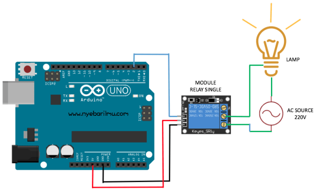 Tutorial arduino mengkases relay