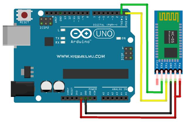 Skema rangkaian arduino mengakses bluetooth hc 05.PNG