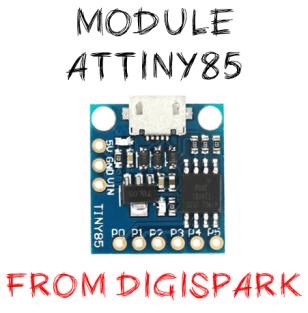module Attiny85 digispark