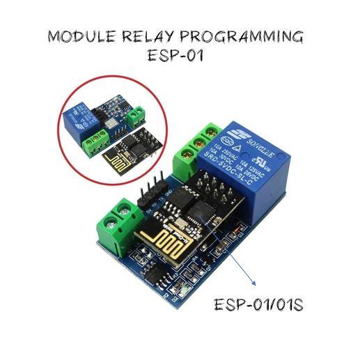 Module iot ESP-01 Relay Programming