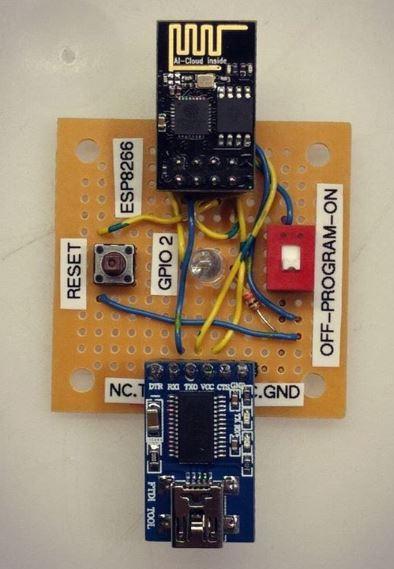 Tutorial iot ESP-01 Programming origin