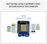 GPIO ESP8266 - WEMOS D1 MINI