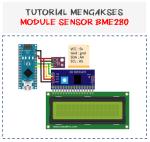 Tutorial mengakses sensor BME280