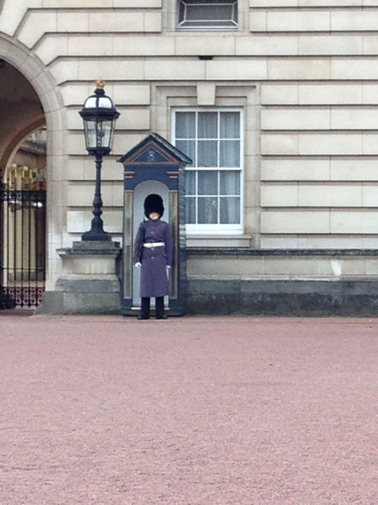 ruta rápida por Londres, cambio de guardia Buckingham Palace