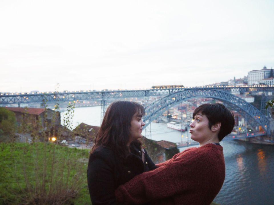 Oporto, puente Dom Luis I