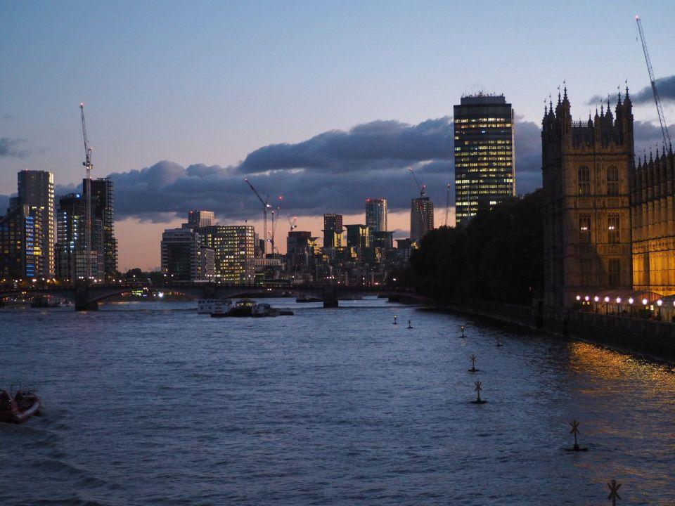 ruta rápida por Londres, río Támesis