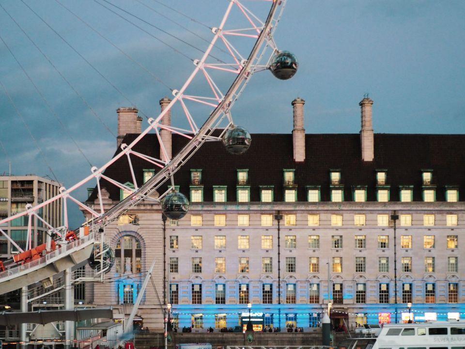 ruta rápida por Londres, London Eye