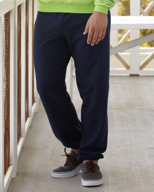 77ab8cd7ea9518 Hanes Boys' Fleece Jogger Sweatpants With Pockets Hanes EcoSmart Sweatpants  ...