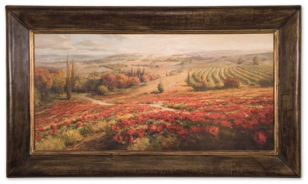 Uttermost 50846 Red Poppy Panorama Framed Art 367.40