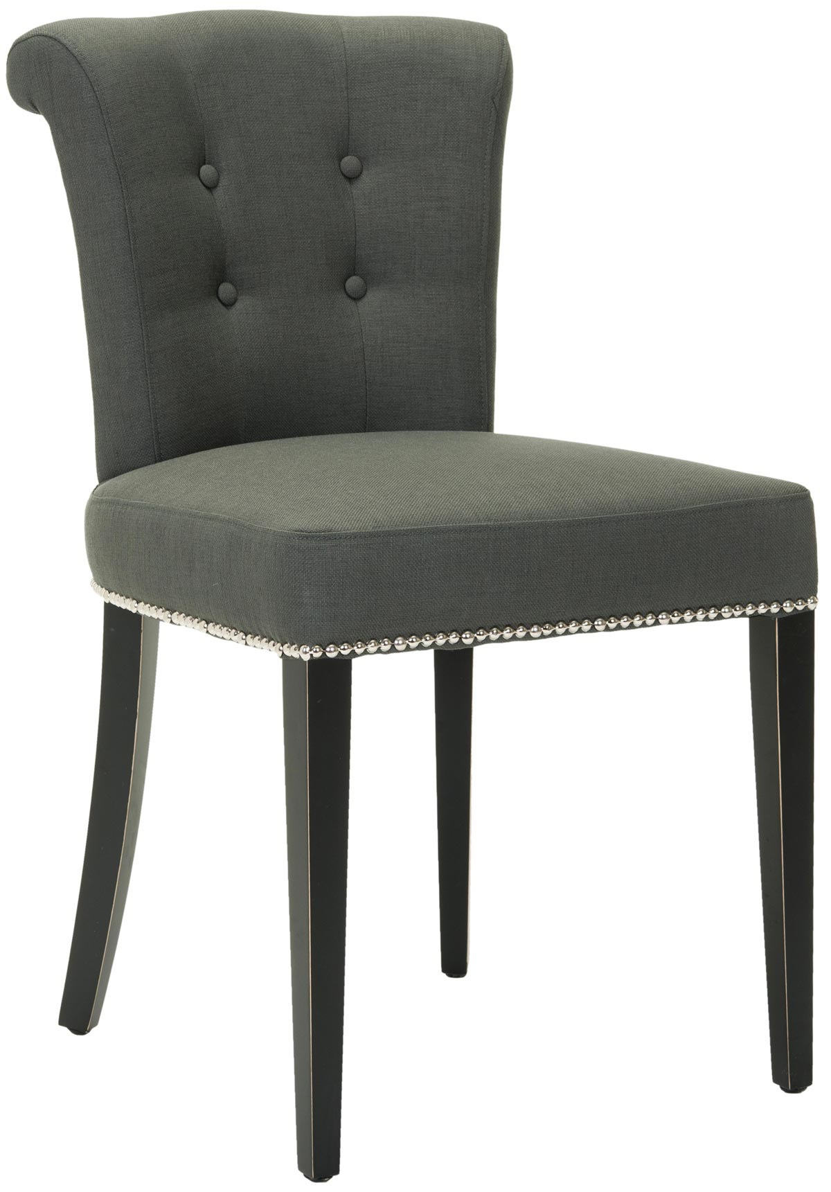 safavieh sinclair ring side chair pad foam mcr4514a arion gray set of two