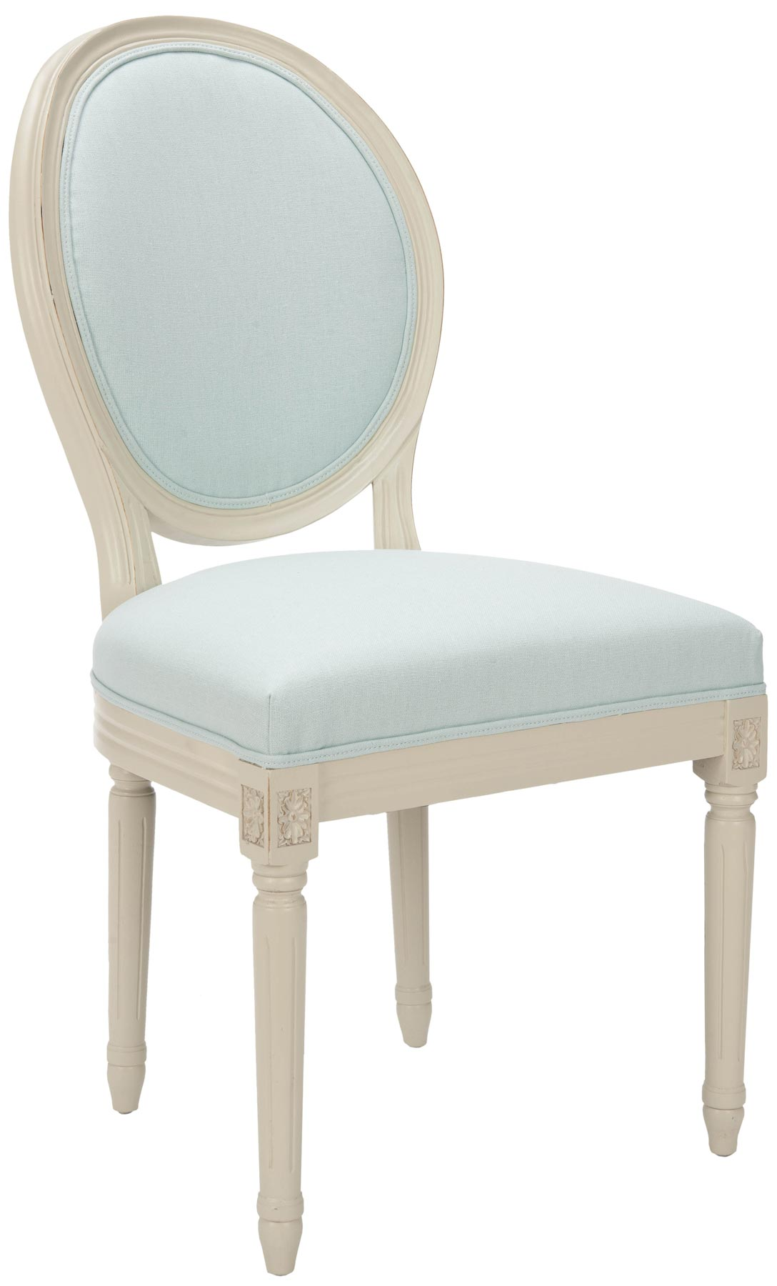 paris side chair personalized toddler chairs safavieh mcr4517l oval set of two