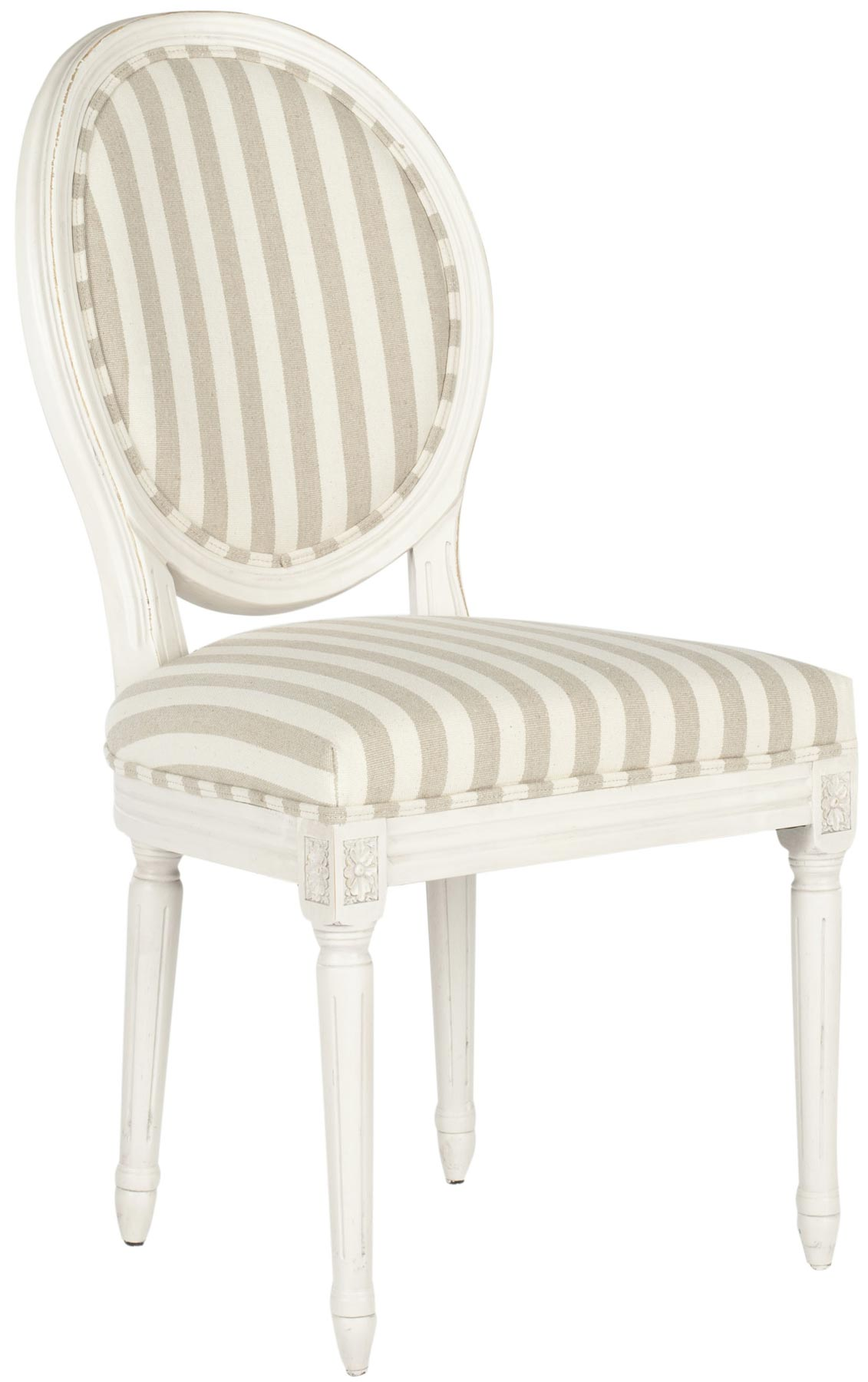 paris side chair toddler table and chairs wooden safavieh mcr4517e oval stripe set of