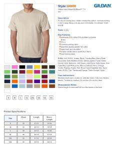 Specs sizing  also gildan dryblend cotton poly  shirt men  shirts rh nyfifth