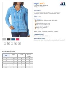 Specs sizing  also  america ladies vanity zen fleece full zip hooded sweatshirt rh nyfifth