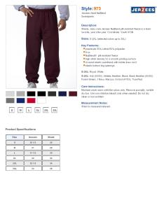Brand jerzees specs sizing  also oz nublend sweatpants pants rh nyfifth