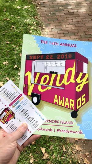 Event Recap: 2018 Vendy Awards