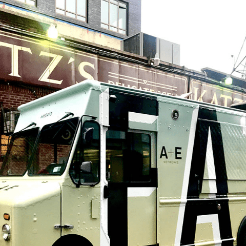 Katz Delicatessen A & E Food Truck Promotion
