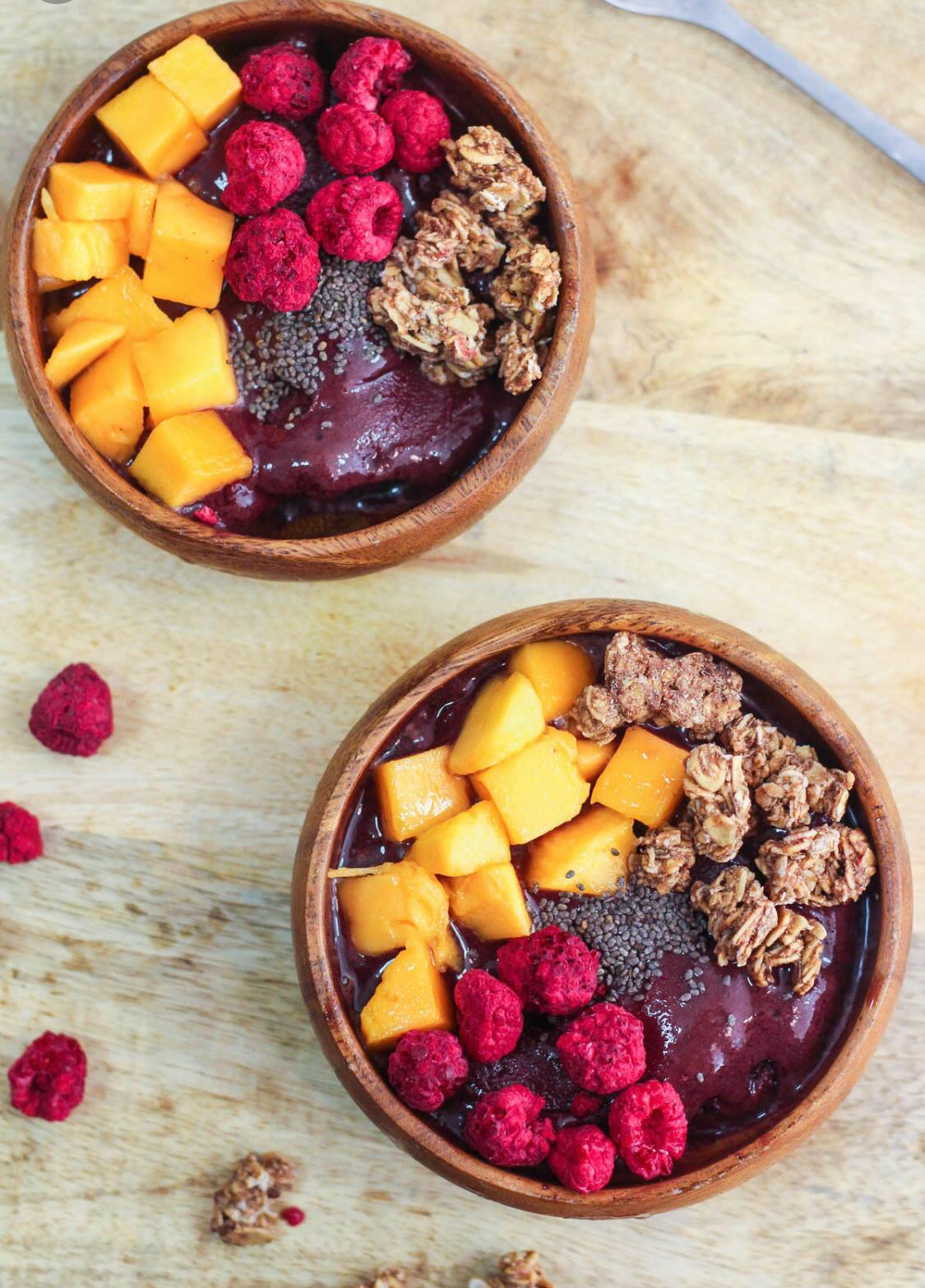 Healthy Food Trucks New York Acai Bowl
