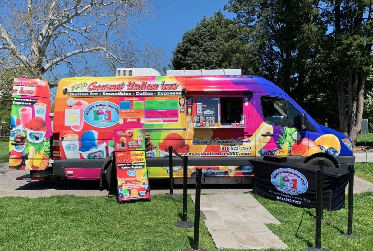 Andy's Italian Ices Food Truck