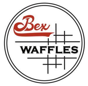 Bex waffles food truck logo