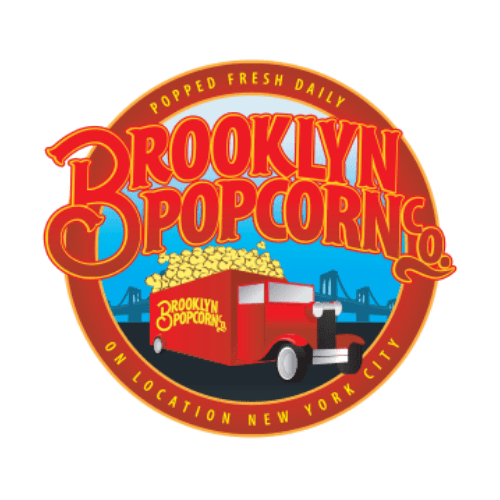 Brooklyn Popcorn food truck logo