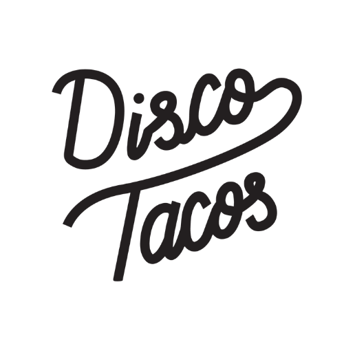 Disco Tacos food truck logo