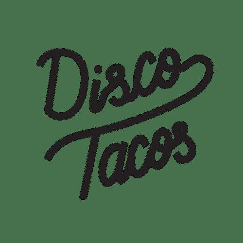 Disco Tacos food truck logo