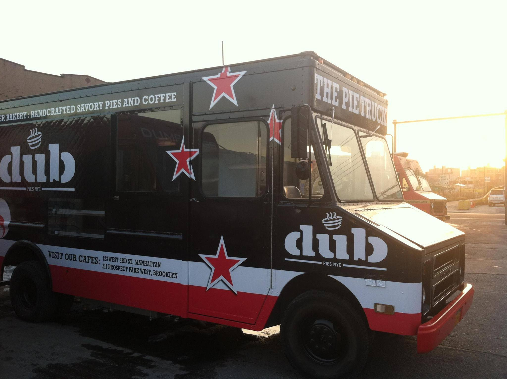 Dub Pies food truck bakery catering