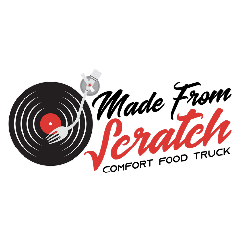 made from scratch food truck logo