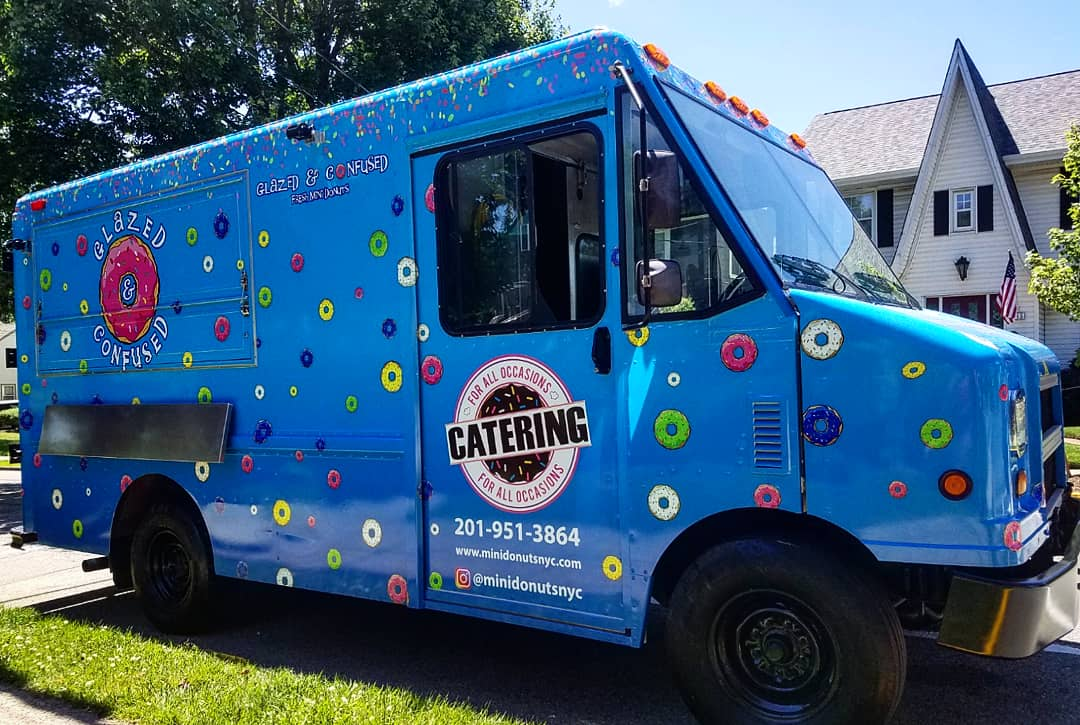 Glazed & Confused Donut Food Truck Catering New York