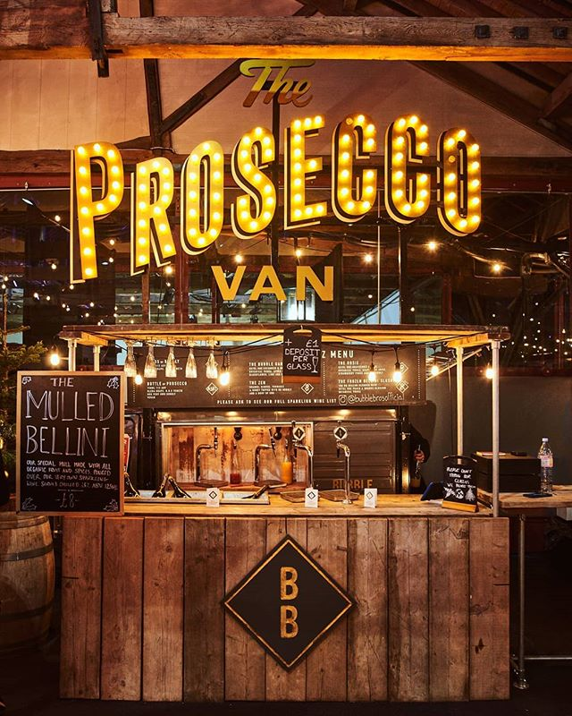 Rent a prosecco van for wedding wine catering in New York