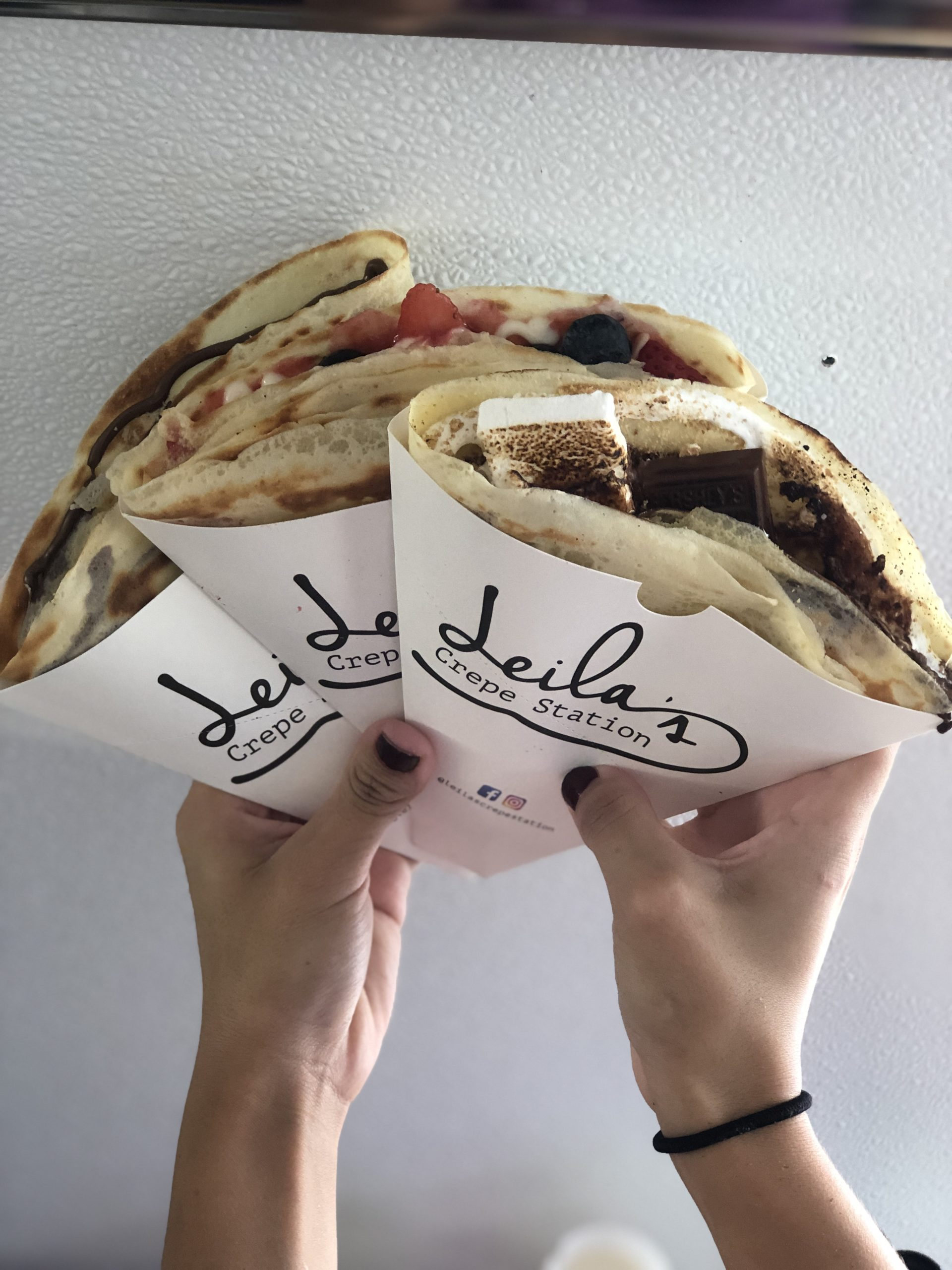 Sweet and savory crepes food truck
